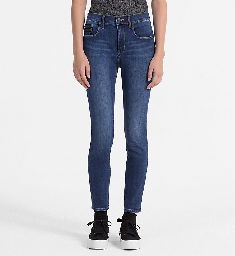 CALVIN KLEIN JEANS High Rise Skinny Jeans - WONDER MID - CALVIN KLEIN JEANS JEANS - main image