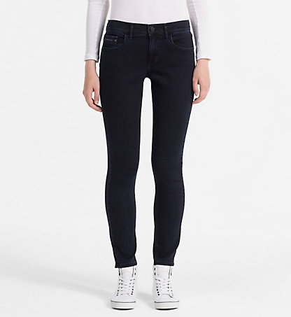 CALVIN KLEIN JEANS Mid-Rise Skinny-Jeans J20J201380913