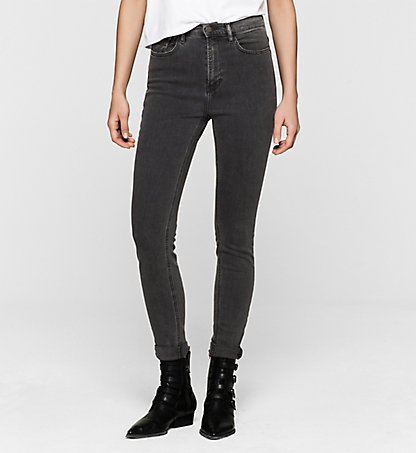CALVIN KLEIN JEANS High-Rise Skinny-Jeans J20J201407919