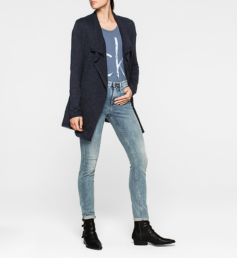 CKJEANS Cardigan - NAVY BLAZER - CK JEANS PULLOVER - main image 1