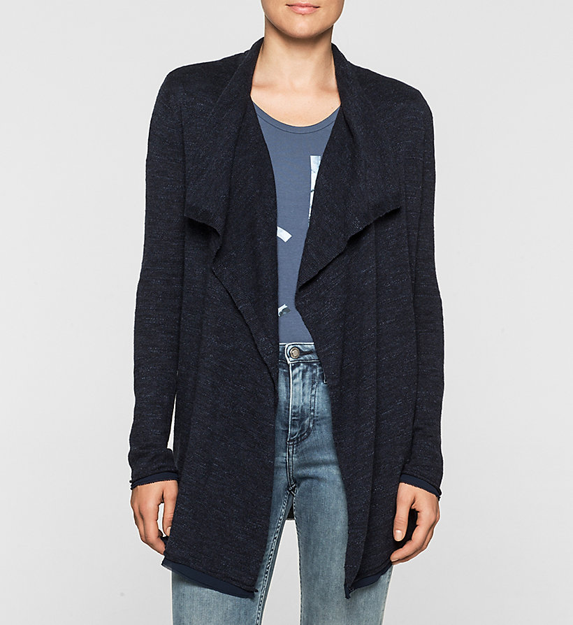 CKJEANS Cardigan - NAVY BLAZER - CK JEANS PULLOVER - main image