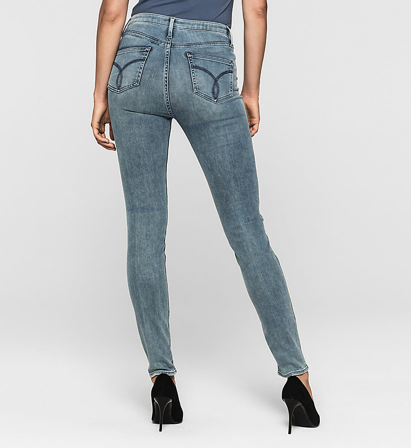 CKJEANS High-Rise Sculpted Skinny-Jeans - SKY LIGHT - CK JEANS JEANS - main image 1