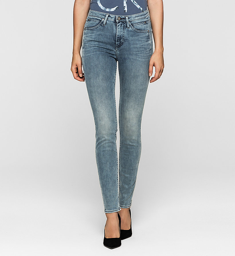 CKJEANS High-Rise Sculpted Skinny-Jeans - SKY LIGHT - CK JEANS JEANS - main image