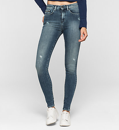 CALVIN KLEIN JEANS High-Rise Skinny-Jeans J20J204681911