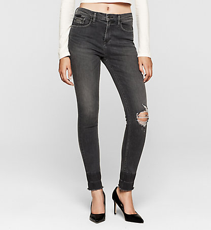 CALVIN KLEIN JEANS High-Rise Skinny-Jeans J20J204684903