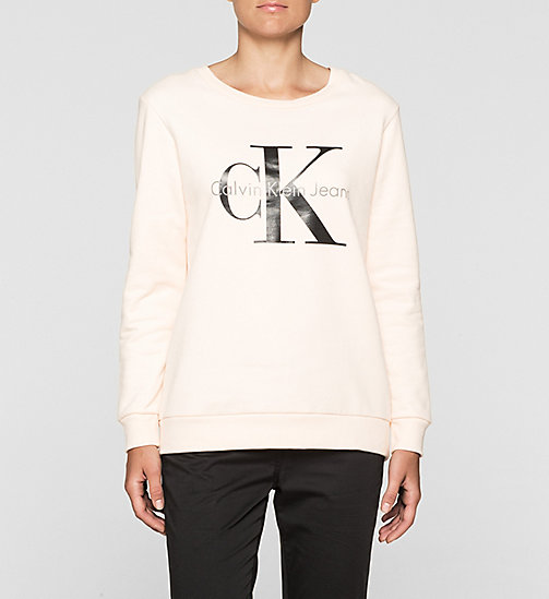 CKCOLLECTION Logo-Sweatshirt - PALE DOGWOOD - CALVIN KLEIN JEANS  - main image