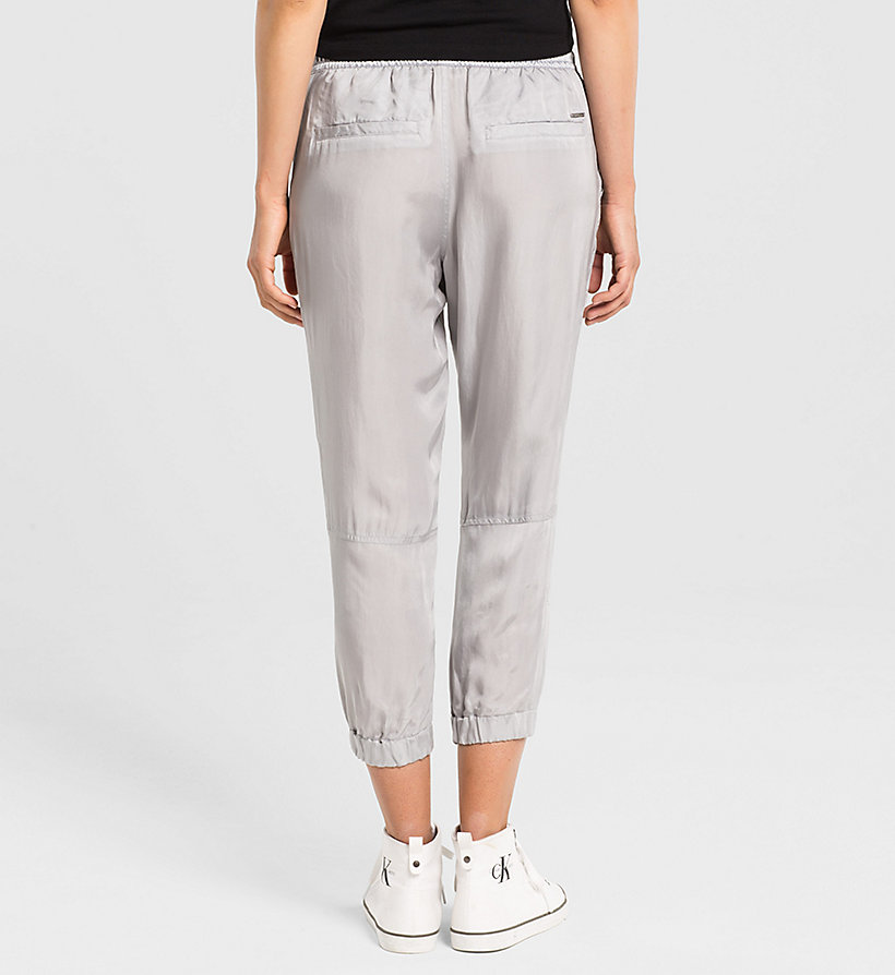 CKJEANS Cupro Sweatpants - QUIET GREY - CK JEANS TROUSERS - detail image 1