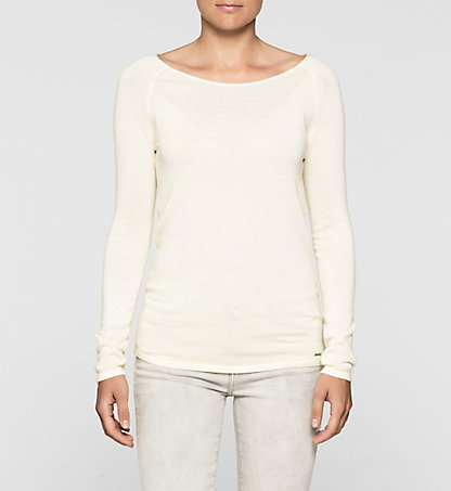 CALVIN KLEIN JEANS Cotton Silk Sweater J20J204752794