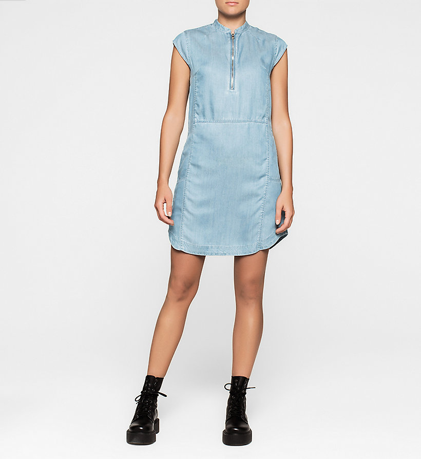 CKJEANS Denim Dress - MID INDIGO - CK JEANS CLOTHES - main image