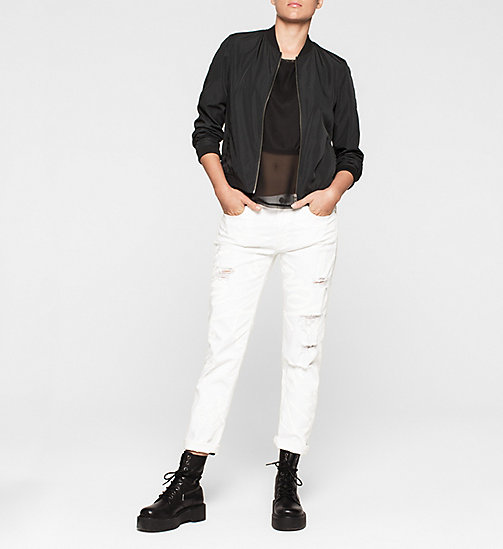 CKCOLLECTION Material Mix Top - CK BLACK - CK JEANS  - detail image 1