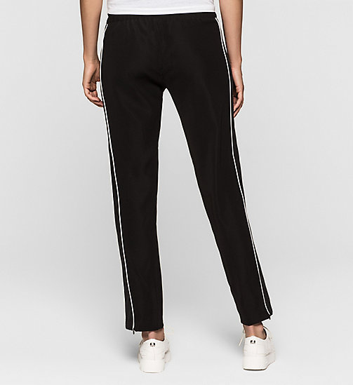 CKJEANS Satin Sweatpants - CK BLACK - CK JEANS TROUSERS - detail image 1