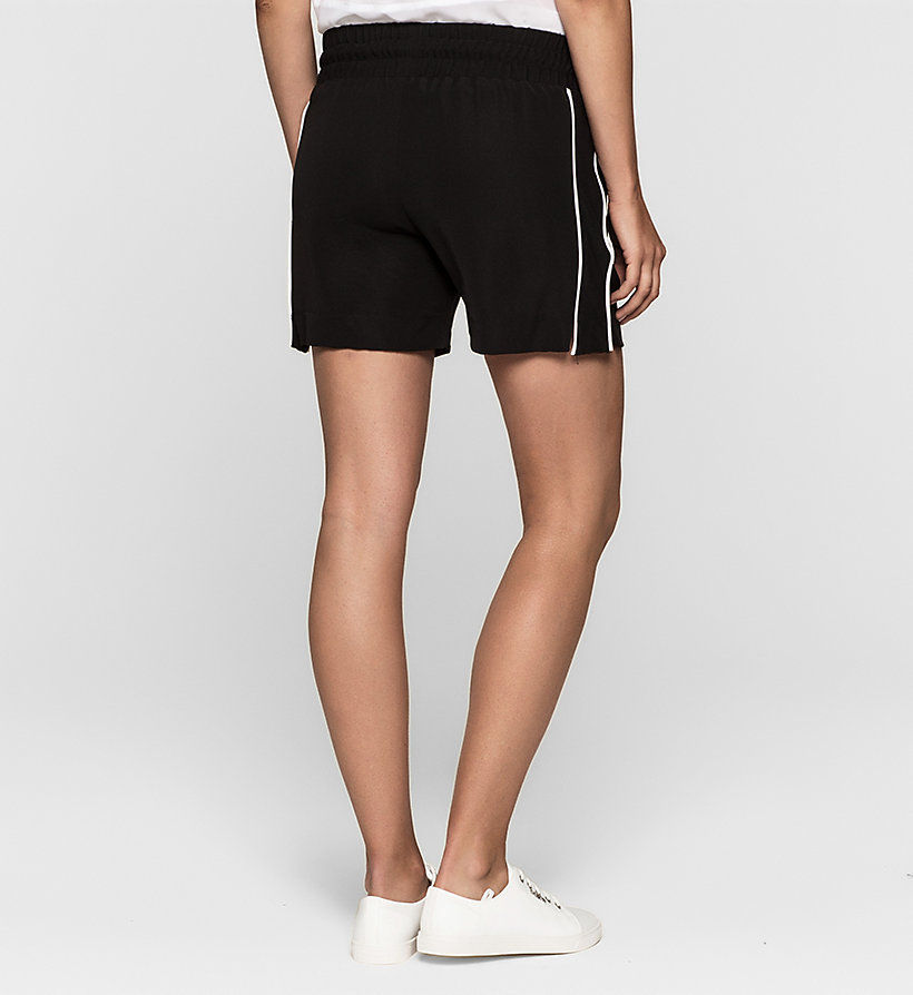 CKJEANS Mesh-Trimmed Shorts - CK BLACK - CK JEANS CLOTHES - detail image 1