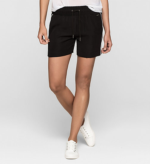 CKJEANS Mesh-Trimmed Shorts - CK BLACK - CK JEANS Up to 50% - main image