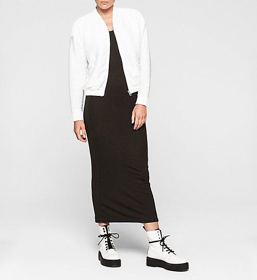 CALVINKLEIN Jersey Maxi Dress - CK BLACK - CK JEANS DRESSES - detail image 1