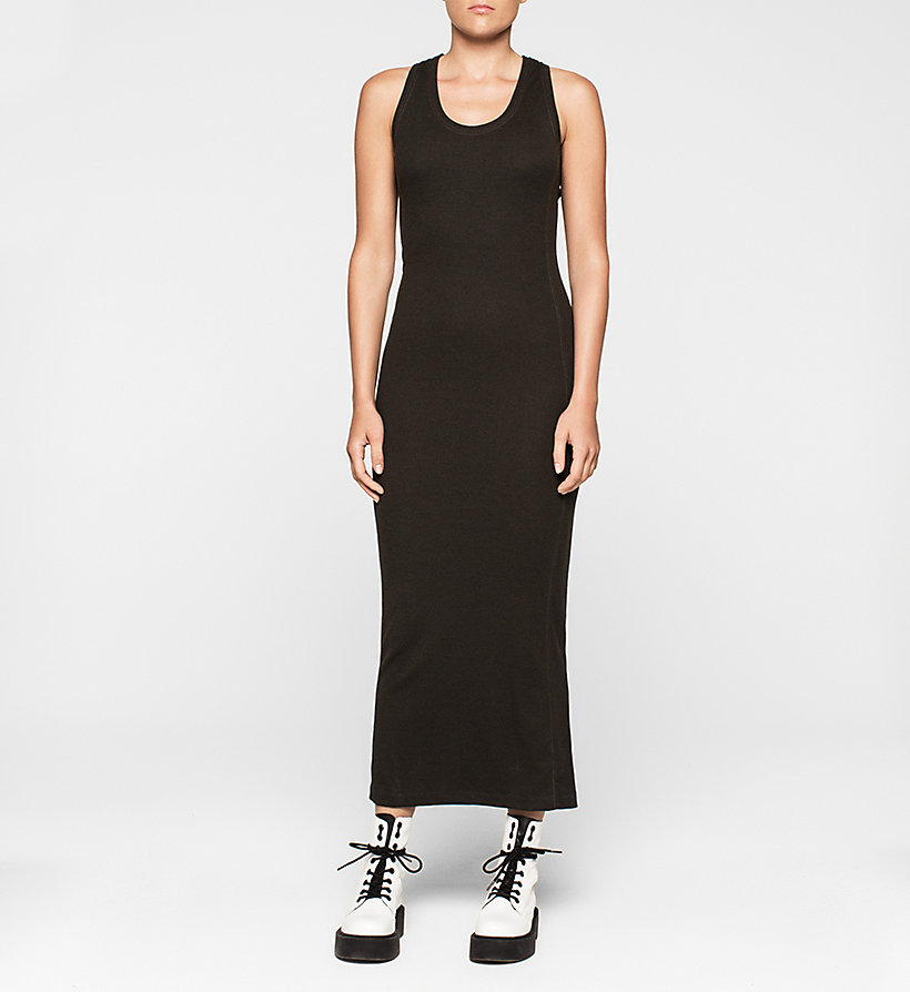 CKJEANS Jersey Maxi Dress - CK BLACK - CK JEANS CLOTHES - main image