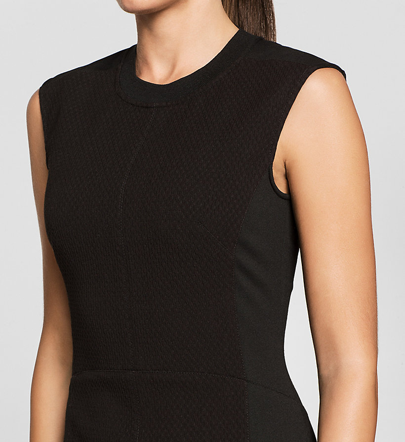 CKJEANS Panelled Jersey Dress - CK BLACK - CK JEANS DRESSES - detail image 2