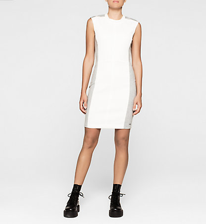 CALVIN KLEIN JEANS Panelled Jersey Dress J20J204782901