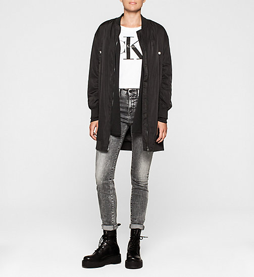 Cotton Silk Cardigan - CK BLACK - CK JEANS JUMPERS - detail image 1