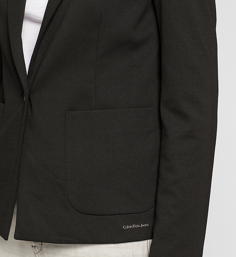 CKJEANS Fitted Jersey Blazer - CK BLACK - CK JEANS CLOTHES - detail image 2