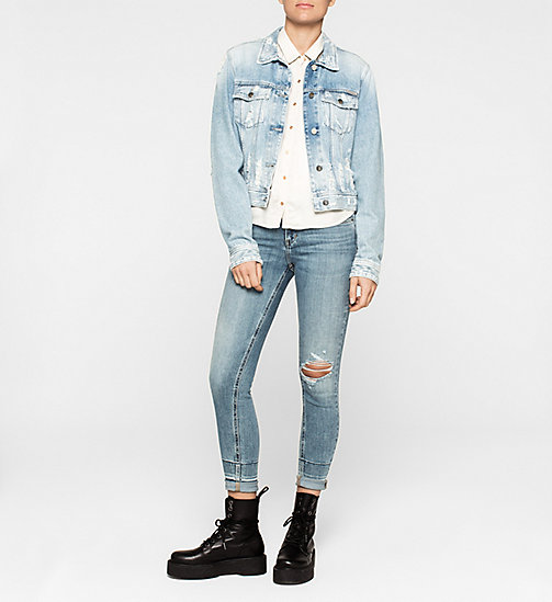 Boxy Satin-Hemd - MOONBEAM - CK JEANS BLUSEN - main image 1