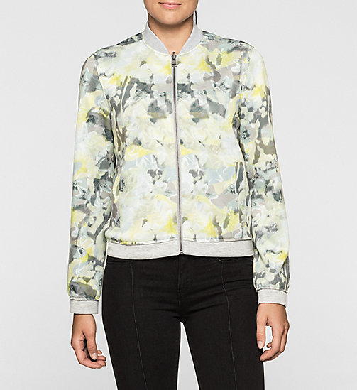 Reversible Bomber Jacket - CAMO FLORAL - CK JEANS  - main image