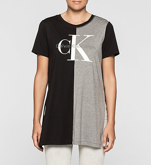 Relaxed T-shirt met logo - CK BLACK - CK JEANS T-SHIRTS - main image