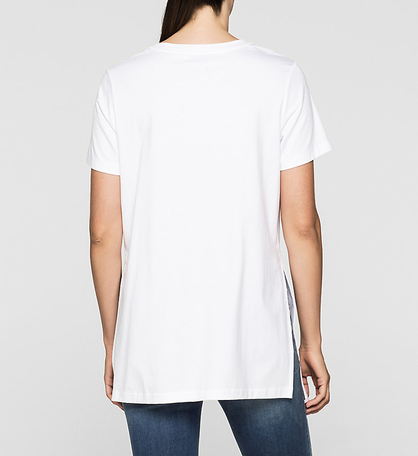 CKJEANS Relaxed Logo T-shirt - BRIGHT WHITE - CK JEANS T-SHIRTS - detail image 2