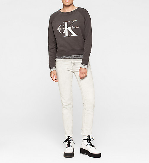 CKJEANS Logo Sweatshirt - CK BLACK - CK JEANS Up to 50% - detail image 1