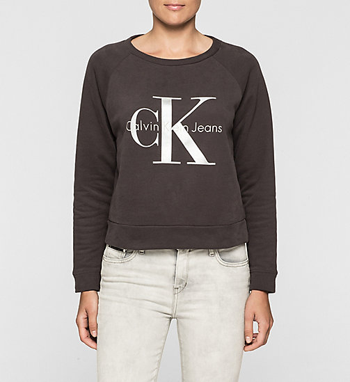 CKJEANS Logo Sweatshirt - CK BLACK - CK JEANS Up to 50% - main image