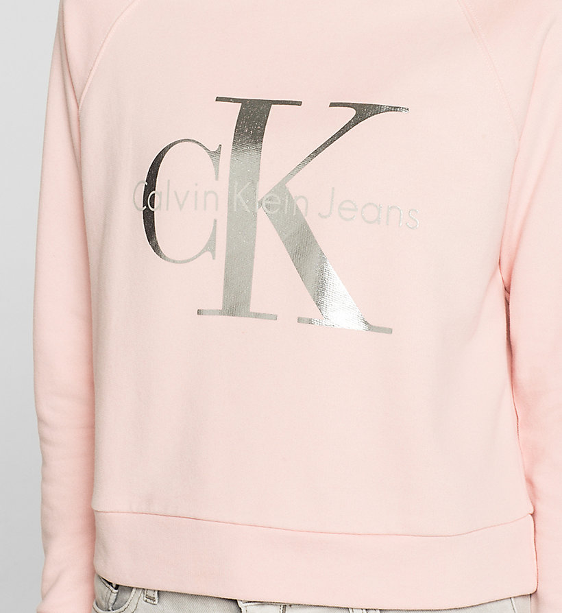CKJEANS Logo Sweatshirt - MELLOW ROSE - CK JEANS CLOTHES - detail image 2