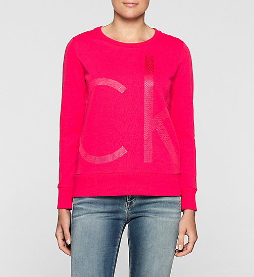 Sweat-shirt avec logo - SPARKLING COSMO - CK JEANS  - image principale