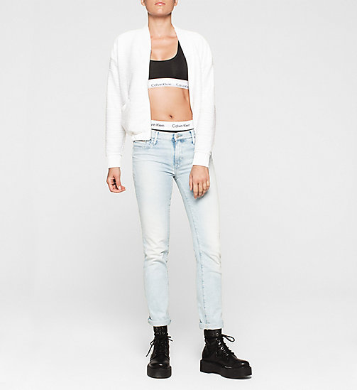 CKJEANS Jersey Bomber Jacket - BRIGHT WHITE - CK JEANS Up to 50% - detail image 1