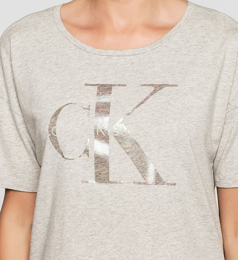 CKJEANS Cropped Logo T-shirt - BRIGHT WHITE - CK JEANS T-SHIRTS - detail image 2