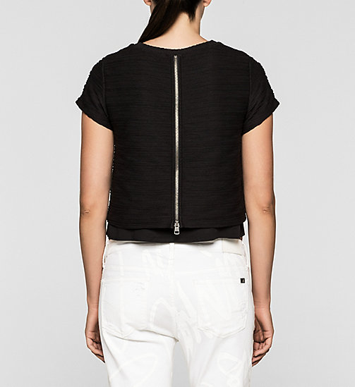 Cropped top - CK BLACK - CK JEANS ONDERGOED - detail image 1