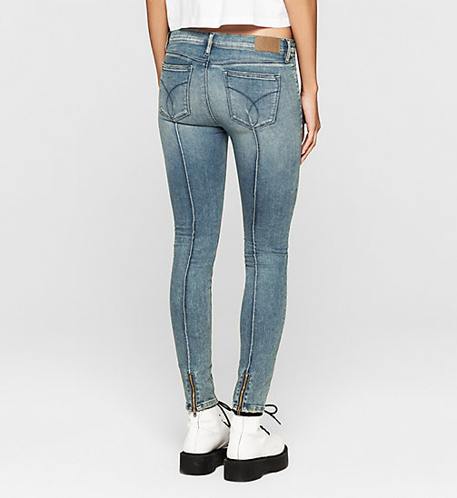 Mid Rise Super Skinny Jeans - ADVENTURE BLUE - CK JEANS CLOTHES - detail image 1