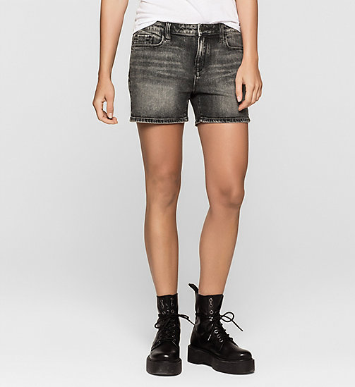 CKJEANS Denim Shorts - BLACK PEARL - CK JEANS GRAPHIC IMPACT - main image