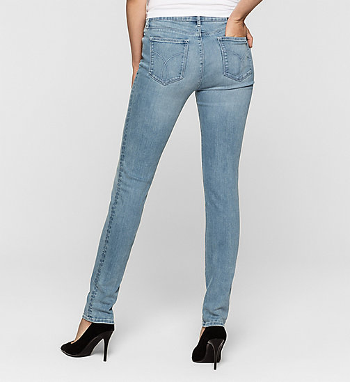 Mid Rise Slim Jeans - WONDER LIGHT - CK JEANS  - detail image 1