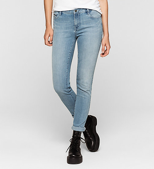 Mid Rise Slim Jeans - WONDER LIGHT - CK JEANS JEANS - main image