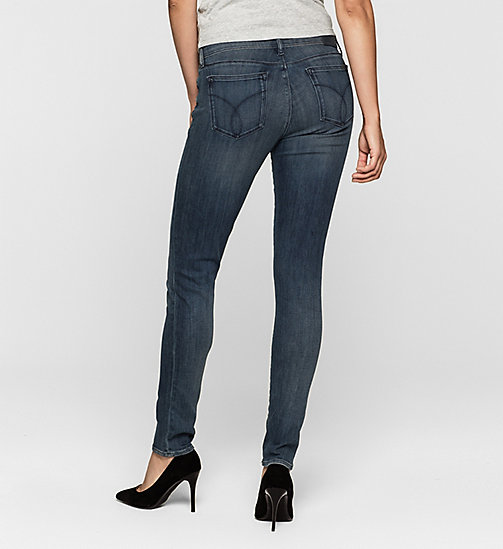Mid Rise Skinny Jeans - RANGER BLUE - CK JEANS CLOTHES - detail image 1