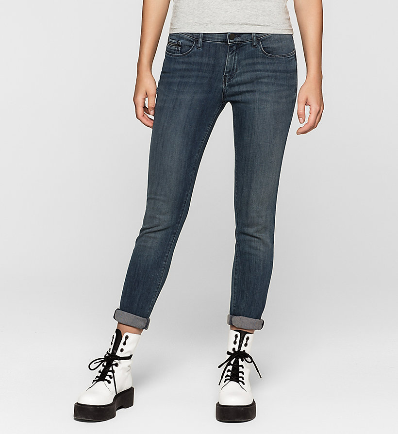 CKJEANS Mid-Rise Skinny-Jeans - RANGER BLUE - CK JEANS KLEIDUNG - main image