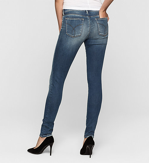 Mid rise skinny jeans - BLUE REVIVAL - CK JEANS JEANS - detail image 1