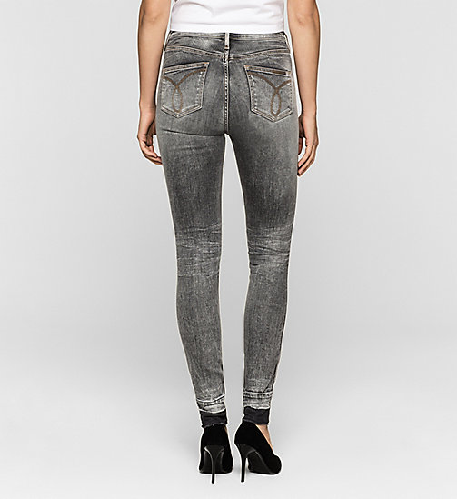 CKJEANS High Rise Sculpted Skinny Jeans - BROKEN GREY - CK JEANS JEANS - detail image 1
