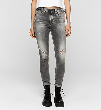 CALVIN KLEIN JEANS High-Rise Sculpted Skinny-Jeans J20J204918904