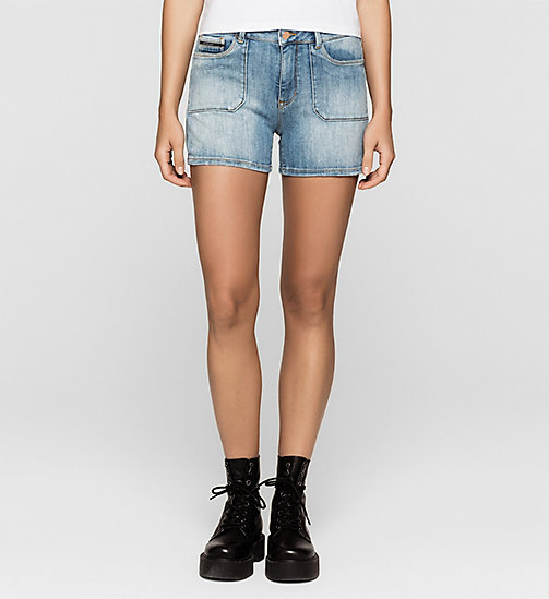 Denim Surplus Shorts - UNUSUAL BLUE - CK JEANS SHORTS - main image