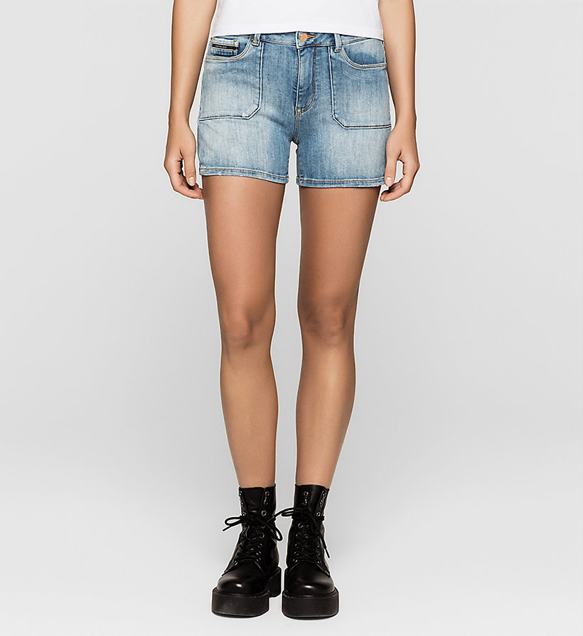 CKJEANS Denim Surplus Shorts - UNUSUAL BLUE - CK JEANS SHORTS - main image
