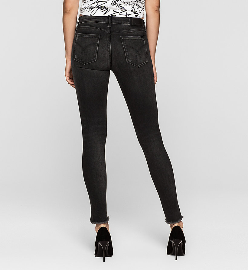 CKJEANS Mid Rise Skinny Twisted Jeans - NIGHTRIDER - CK JEANS JEANS - detail image 1