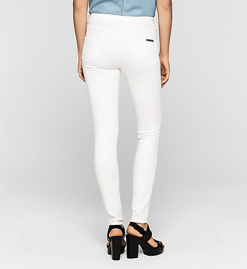CKJEANS High Rise Sculpted Skinny Jeans - INFINITE WHITE - CK JEANS JEANS - detail image 1