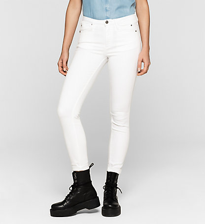 CALVIN KLEIN JEANS High-Rise Sculpted Skinny-Jeans J20J204964902