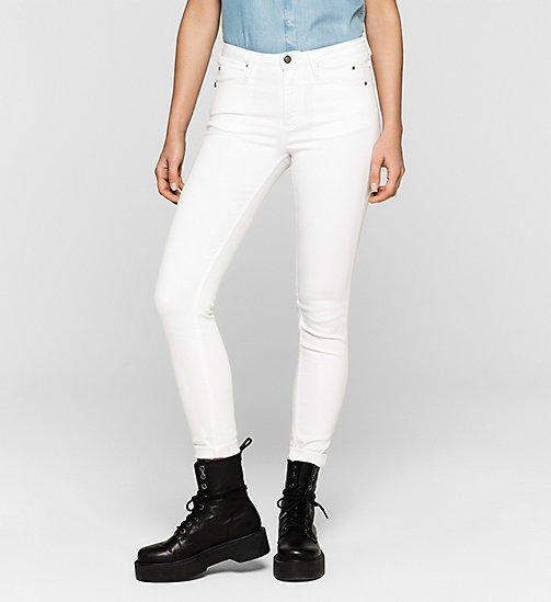 CKJEANS High Rise Sculpted Skinny Jeans - INFINITE WHITE - CK JEANS JEANS - main image