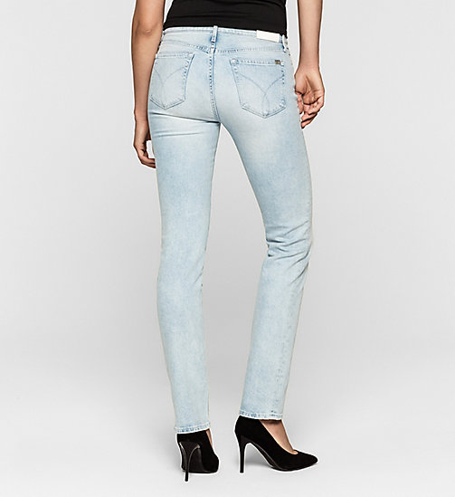 Mid Rise Straight Jeans - COAST BLUE - CK JEANS JEANS - detail image 1
